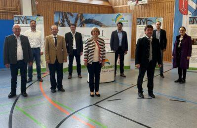 Gruppenfoto in der Trunhalle