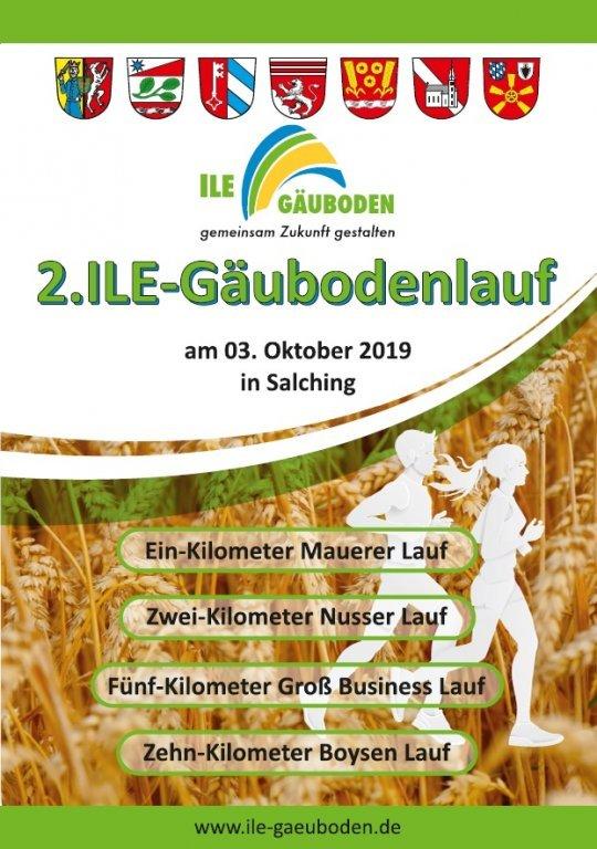 2. Ile-Gäubodenlauf Flyer